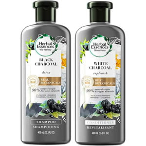 Herbal Essences Shampoo and Conditioner Charcoal Kit