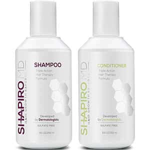 Shapiro MD Hair Growth Experts Hair Loss Shampoo and Conditioner